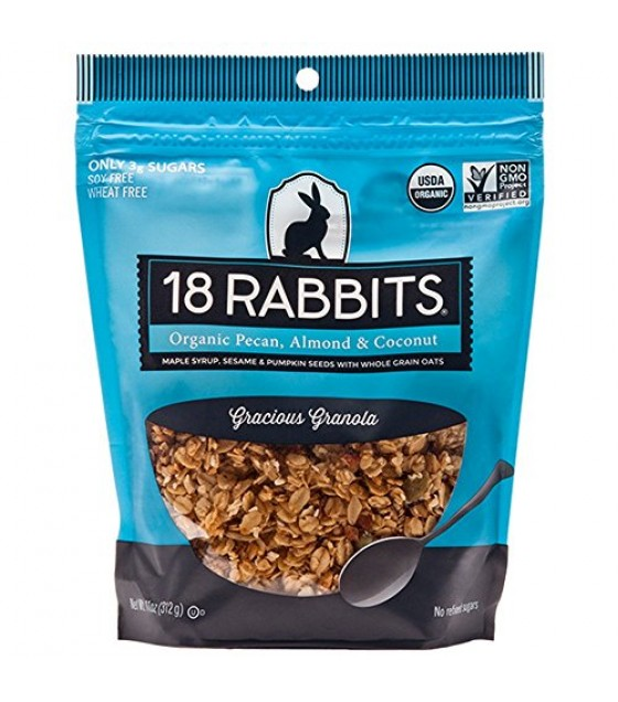 [18 Rabbits] Granolas Gracious  At least 95% Organic