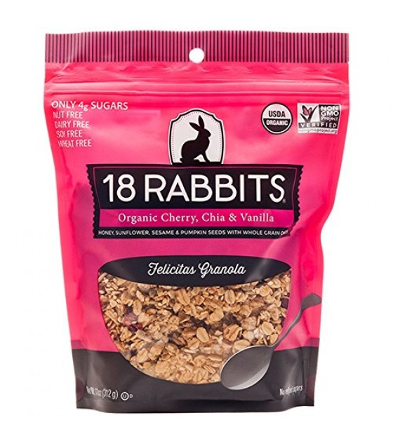 [18 Rabbits] Granolas Felicitas  At least 95% Organic