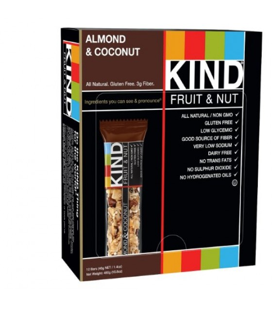 [Kind] Kind Fruit & Nut Bars Almond & Coconut