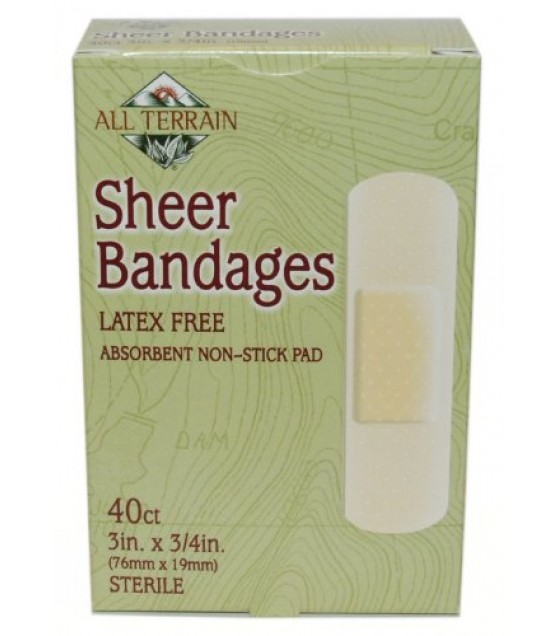 [All Terrain] First Aid Bandages, Sheer