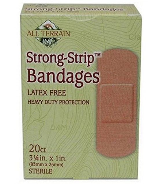 [All Terrain] First Aid Bandages, Strong Strip