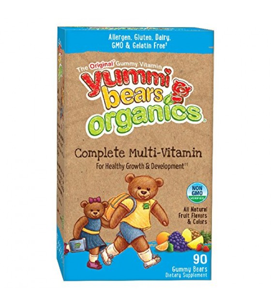 [Yummi Bears Organics]  Multi Vitamin  At least 70% Organic