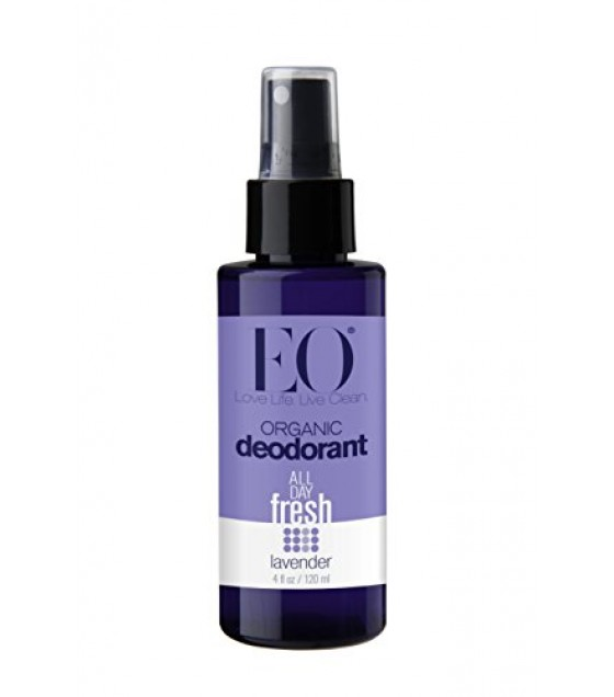 [Eo] Face & Body Mists Deodorant Spray, Lavender  At least 95% Organic