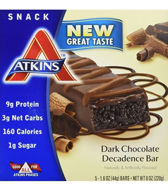 [Atkins] ADVANTAGE BAR,DK CHOC DEC