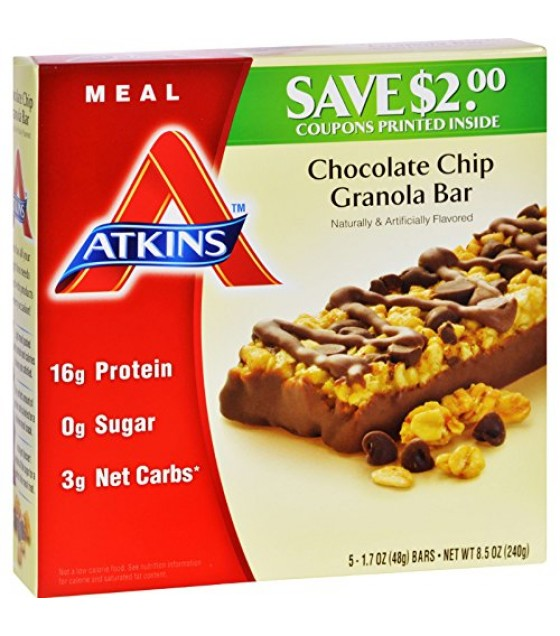 [Atkins] ADVANTAGE BAR,C/CHIP GRAN