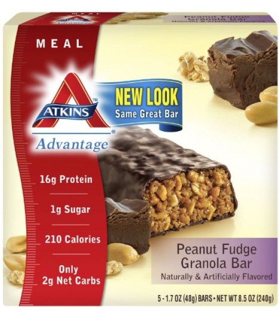 [Atkins] ADVANTAGE BAR,PNT FUD GRN