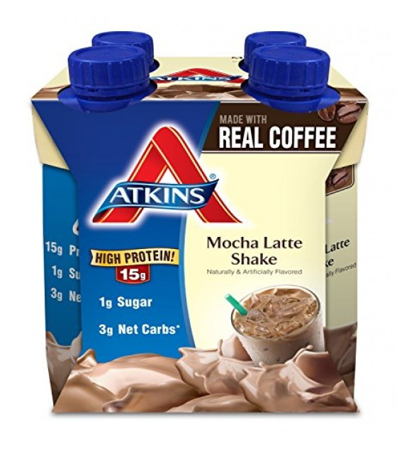[atkins] Cafe Mocha Shake, Ready To Drink