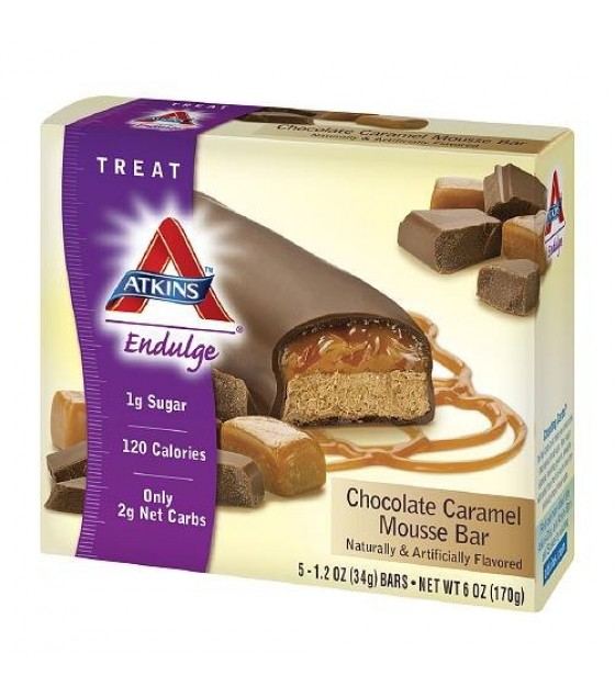 [Atkins] ENDULGE BAR,5PK,CHOC CARM