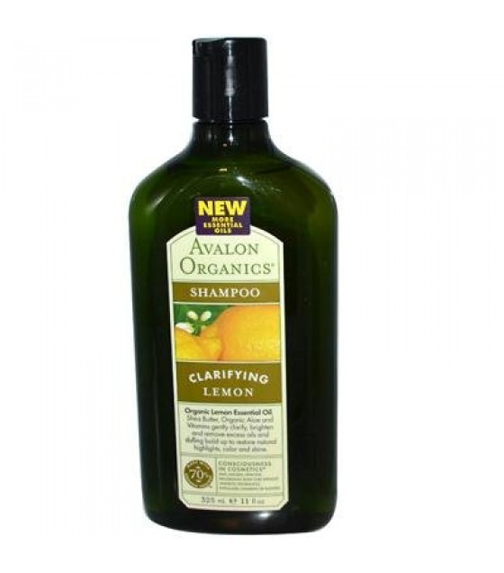 [Avalon Organics] Therapeutic Hair Care Shampoo, Lemon