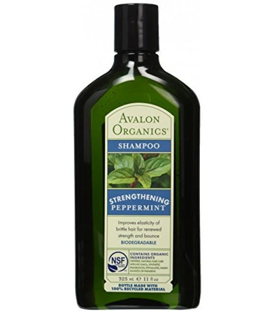 [Avalon Organics] Therapeutic Hair Care Shampoo, Peppermint