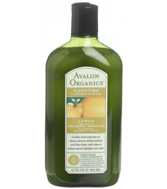 [Avalon Organics] Therapeutic Hair Care Conditioner, Lemon