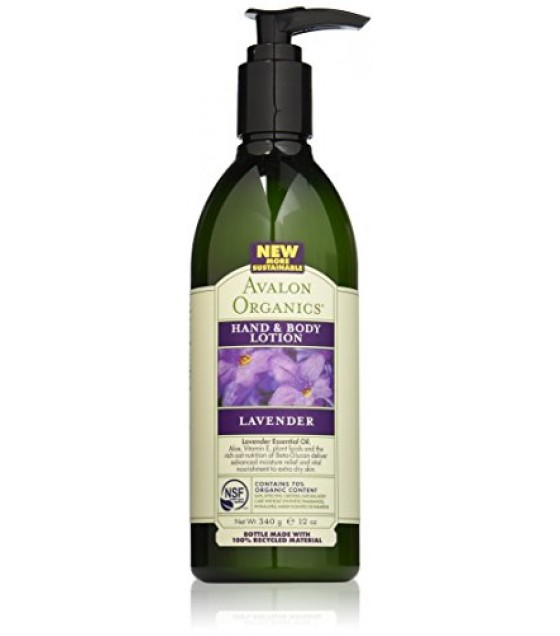 [Avalon Organics] Therapeutic Hand & Body Lotion Lavender