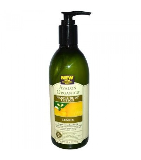 [Avalon Organics] Therapeutic Hand & Body Lotion Lemon