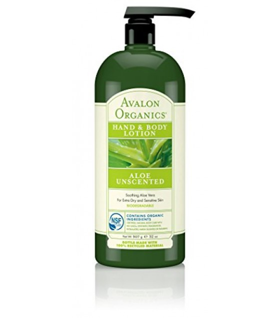 [Avalon Organics] Therapeutic Hand & Body Lotion Unscented Hand-Body Lotion