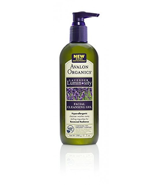 [Avalon Organics] Therapeutic Organic Lavender Skin Care Facial Cleansing Gel