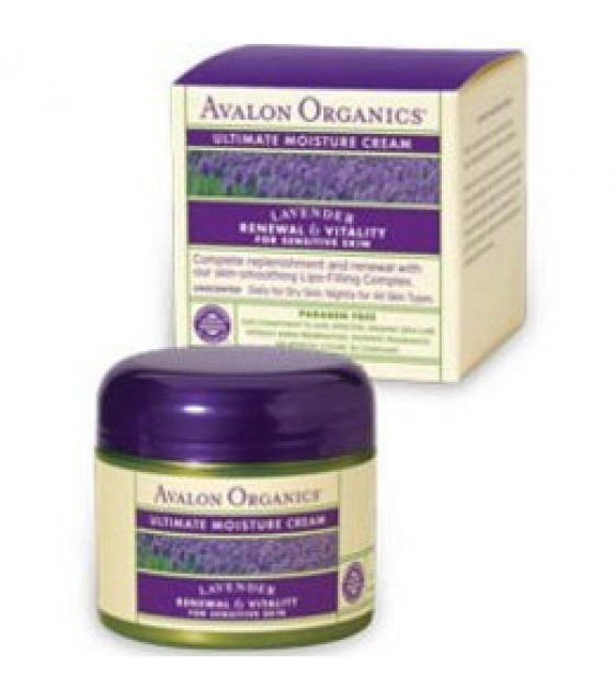 [Avalon Organics] Brilliant Balance Ultimate Moisture Night Cream
