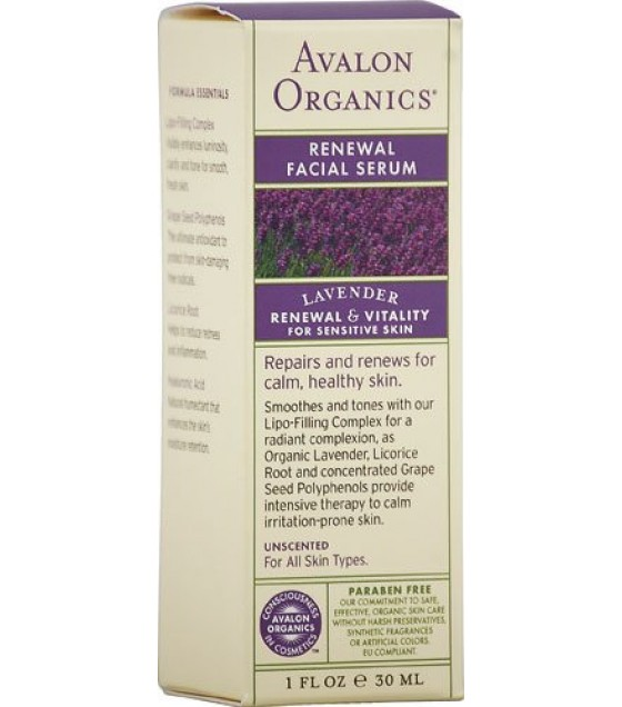 [Avalon] FACIAL SERUM,RENEW,LAVNDR