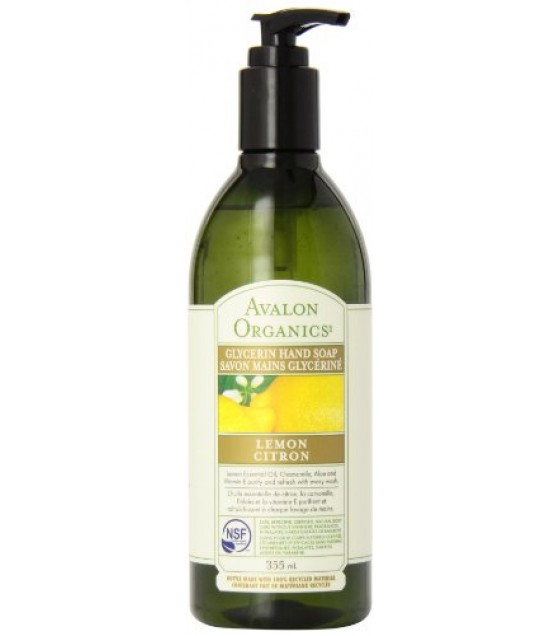 [Avalon Organics] Therapeutic Liquid Glycerin Soap Lemon