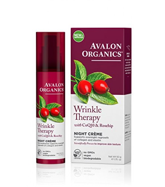 [Avalon Organics] Wrinkle Therapy with CoQ10 & Rosehip Night Creme