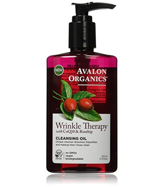 [avalon] Wrinkle Therapy With Coq10 & Rosehip; Cleansing Oil