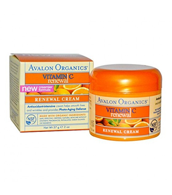 [Avalon Organics] Intense Defense with Vitamin C Renewal Cream