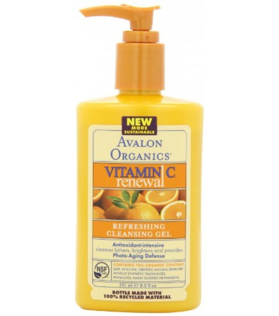 [Avalon Organics] Intense Defense with Vitamin C Cleansing Gel