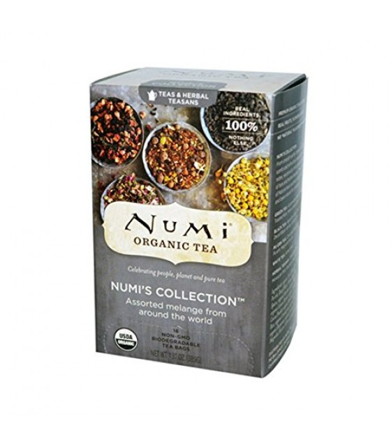 [Numi Tea] Assorted Teas Numi`s Collection