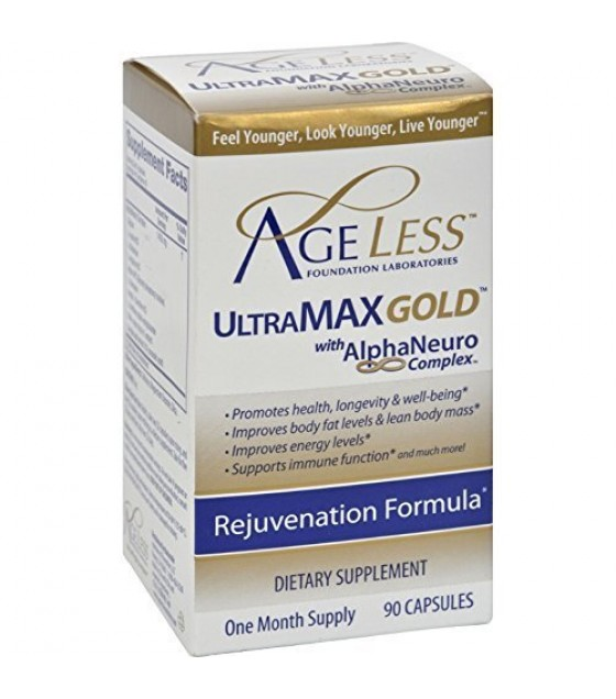 [ageless Foundation] Ultra Max Gold Capsules