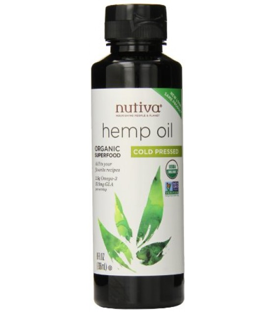 [Nutiva] Hempseed Oil Cold Pressed  At least 95% Organic