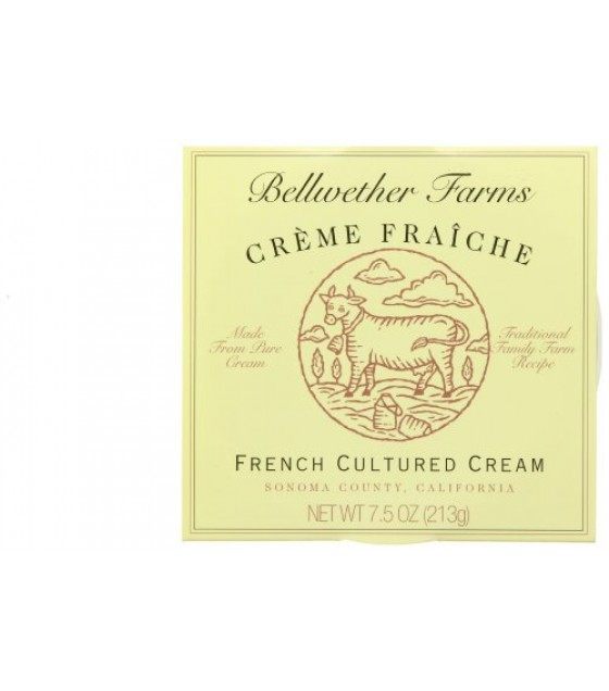 [Bellwether Farms] Cow Milk Creme Fraiche Creme Fraiche