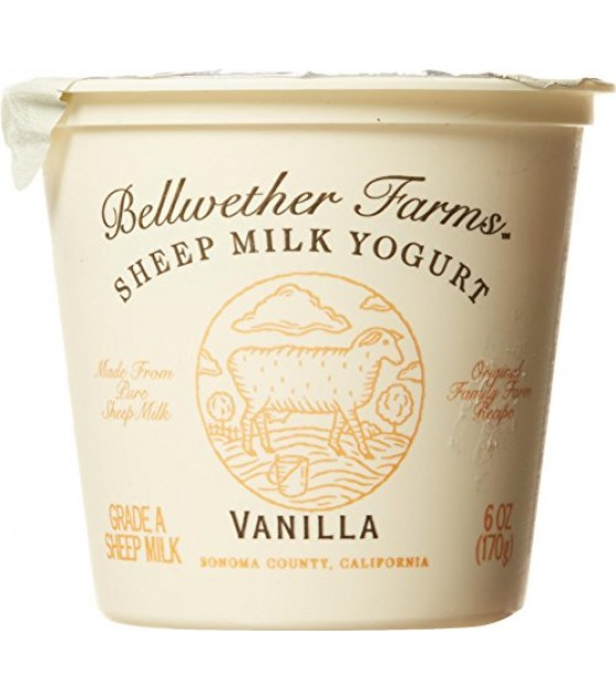 [Bellwether Farms] Sheep Milk Yogurt Vanilla