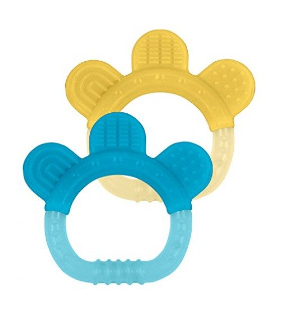 [green Sprouts] Sili Paw Teether,2pk,aq/y
