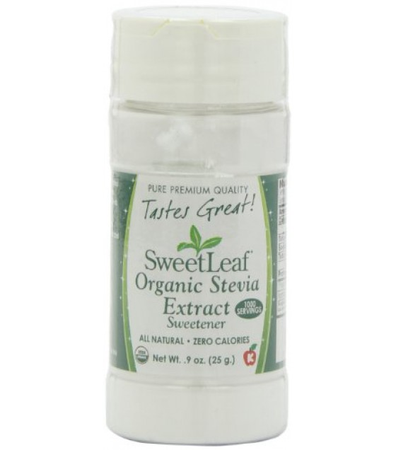 [Sweet Leaf]  Stevia Extract, Powder, White  At least 95% Organic