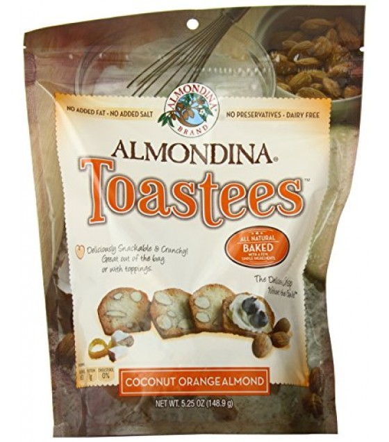 [Almondina] Toastees Coconut Orange Almond