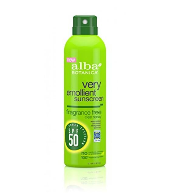 [Alba Botanica] Suncare Products Sunscreen, Frag Free, SPF 50