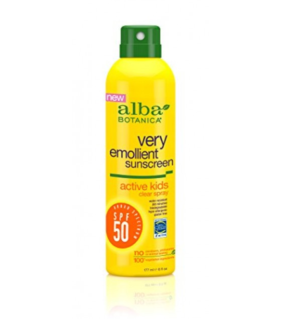 [Alba Botanica] Suncare Products Sunscreen, Active Kids SPF 50