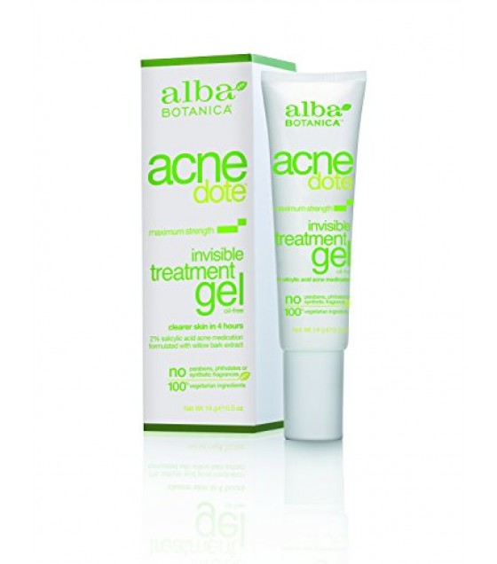 [Alba Botanica] Natural ACNEdote Invisible Treatment Gel