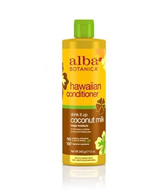[Alba Botanica] Hawaiian Hair Care Coconut Milk Extra-Rich Hair Cond