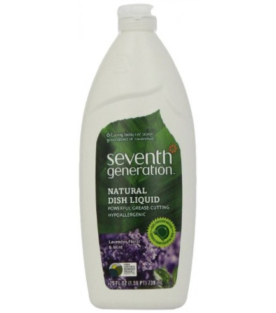 [Seventh Generation] Biodegradable Dishwashing Products Dishwashing Liquid, Lavender Scent