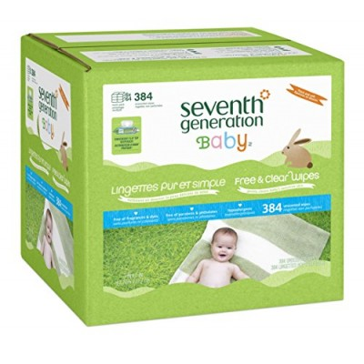 [Seventh Generation] Baby Personal Care Baby Wipes, Free & Clear 6 Pk