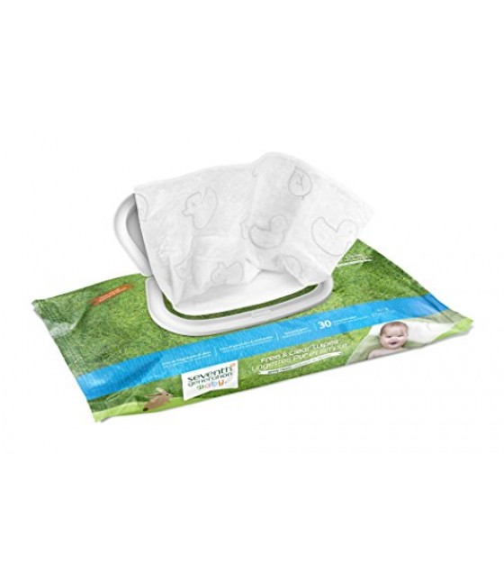 [Seventh Generation] Baby Personal Care Baby Wipes Travel/Free & Clear