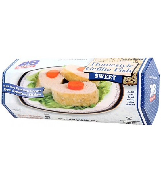[A&B Famous] Gefilte Fish Homestyle Sweet, Passover