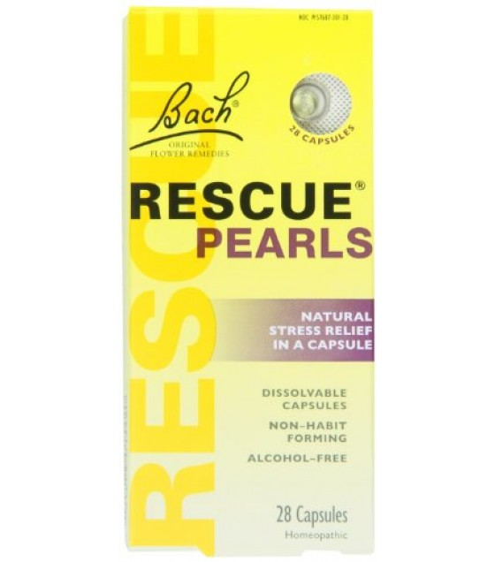 [Bach Flower Essences] Rescue Remedy Pearls, Stress Relief