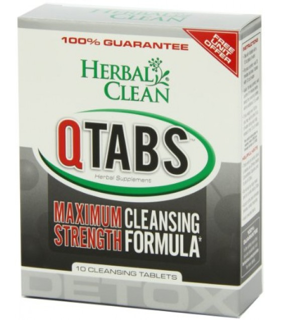 [b.n.g. Herbal Clean] Quick Tabs,1 Hour