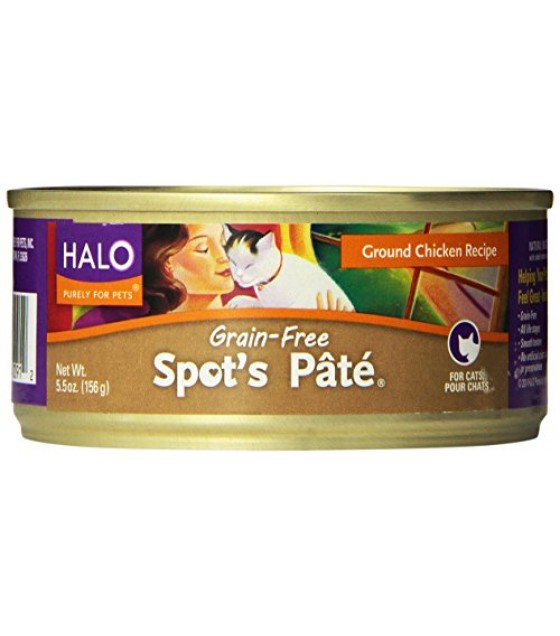 [Halo] Spots Pate- Cat Food Ground, Chicken