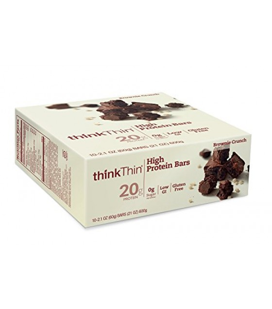 [Think] Think Thin Bars Brownie Crunch