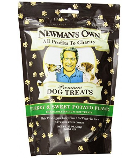[Newman`S Own Organics] Dog Treats Turkey & Sweet Potato  At least 70% Organic