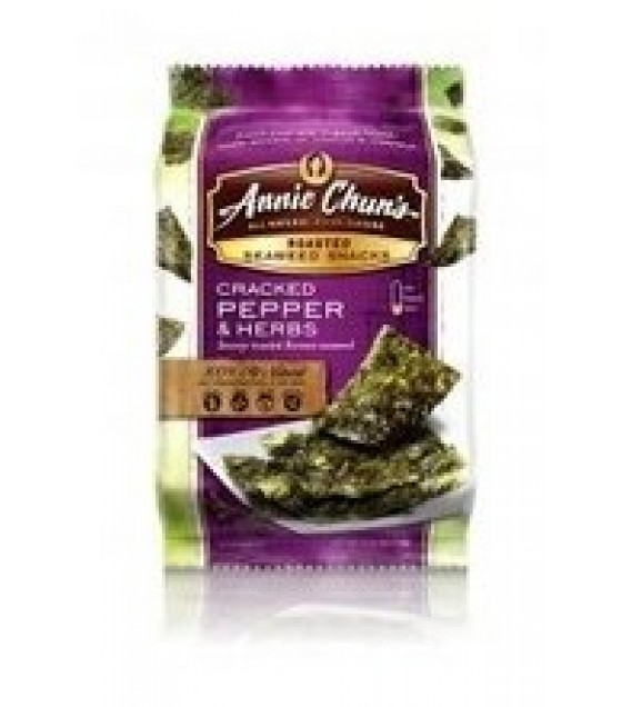 [Annie Chun`S] Seaweed Snacks Cracked Pepper & Herb