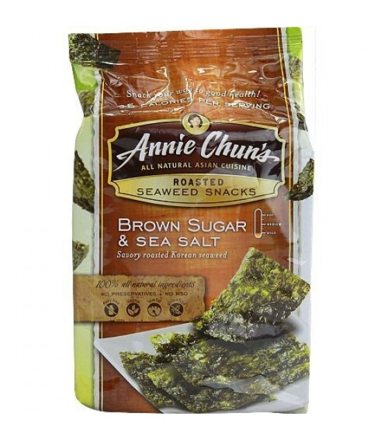 [Annie Chun`S] Seaweed Snacks Brown Sugar & Sea Salt