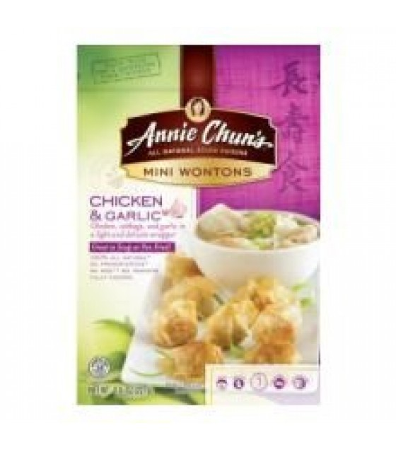 [Annie Chun`S] Mini Wontons Chicken & Garlic